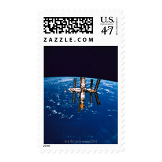 Space Station in Orbit 5 Postage
