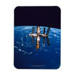 Space Station in Orbit 5 Rectangular Magnets