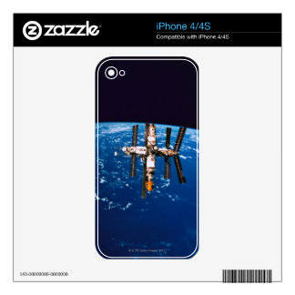 Space Station in Orbit 5 Decal For iPhone 4