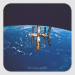 Space Station in Orbit 5 Stickers