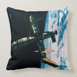 Space Station in Orbit 6 Pillow