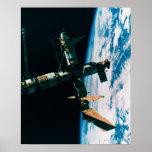 Space Station in Orbit 6 Print