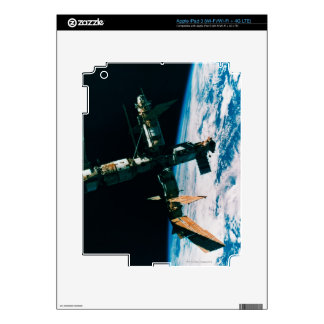 Space Station in Orbit 6 Decal For iPad 3