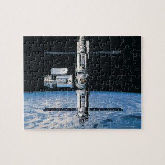 Space Station in Orbit 7 Jigsaw Puzzle