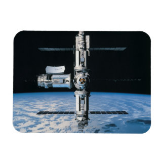 Space Station in Orbit 7 Magnet