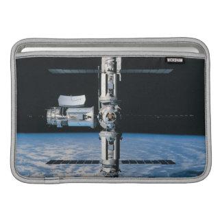 Space Station in Orbit 7 Sleeves For MacBook Air