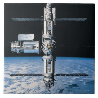 Space Station in Orbit 7 Tile