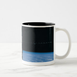 Space Station in Orbit 7 Two-Tone Coffee Mug