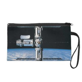 Space Station in Orbit 7 Wristlet