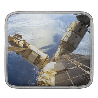 Space Station in Orbit 8 Sleeves For iPads