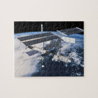Space Station in Orbit 9 Jigsaw Puzzle