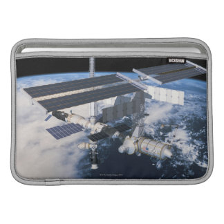 Space Station in Orbit 9 Sleeve For MacBook Air