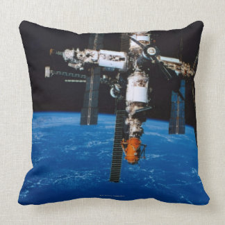Space Station in Orbit Pillows