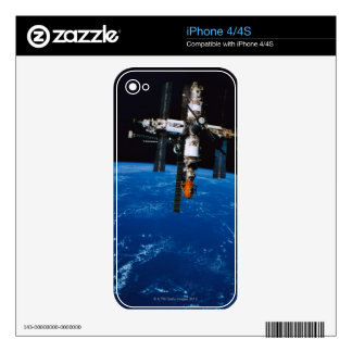 Space Station in Orbit Decals For iPhone 4