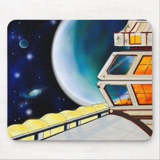 Space Station Mouse Pad