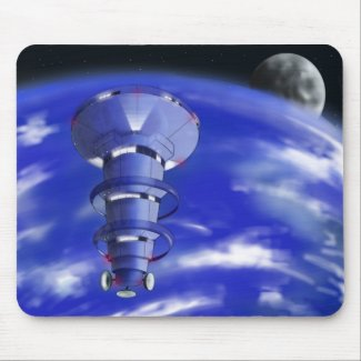 Space Station Mousepad