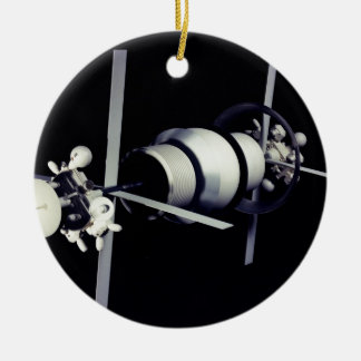 Space Station of the Future Christmas Tree Ornament