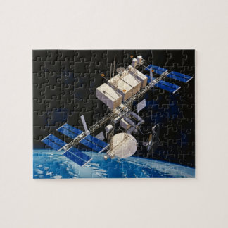 Space Station Orbiting Earth 10 Puzzles