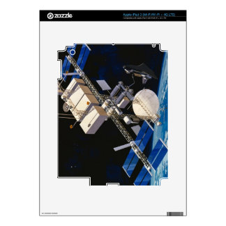 Space Station Orbiting Earth 10 Decal For iPad 3