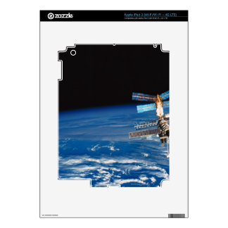 Space Station Orbiting Earth 3 iPad 3 Decal