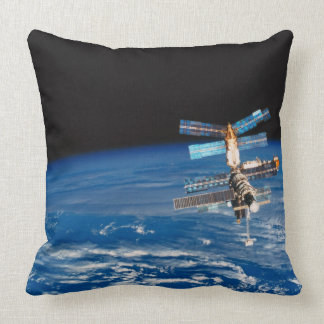 Space Station Orbiting Earth 3 Pillows