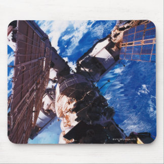 Space Station Orbiting Earth 5 Mouse Pad