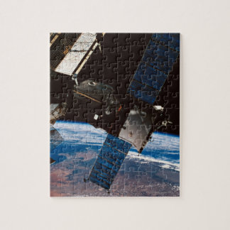 Space Station Orbiting Earth 6 Jigsaw Puzzle