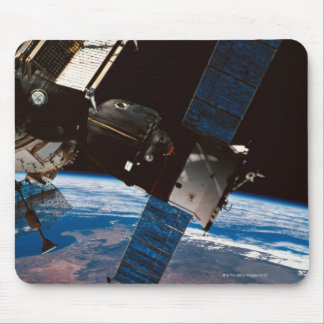 Space Station Orbiting Earth 6 Mousepads
