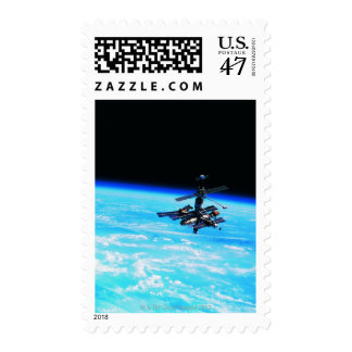 Space Station Orbiting Earth 7 Postage