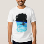 Space Station Orbiting Earth 7 T-Shirt