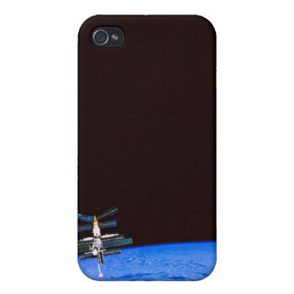 Space Station Orbiting Earth 8 iPhone 4/4S Cases