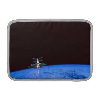 Space Station Orbiting Earth 8 Sleeve For MacBook Air