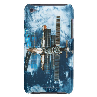 Space Station Orbiting Earth iPod Touch Case