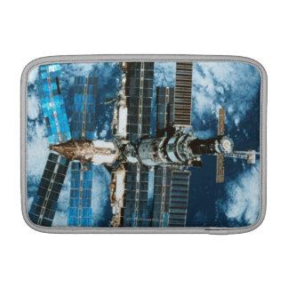Space Station Orbiting Earth MacBook Air Sleeve
