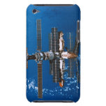 Space Station Orbiting in Space iPod Case-Mate Cases