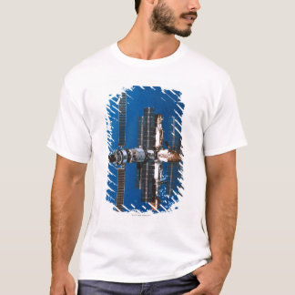 Space Station Orbiting in Space T-Shirt
