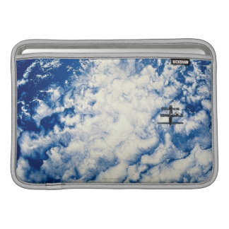 Space Station over the Pacific MacBook Sleeve