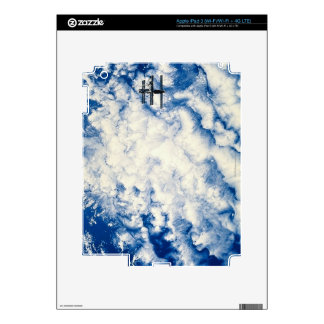 Space Station over the Pacific iPad 3 Decal