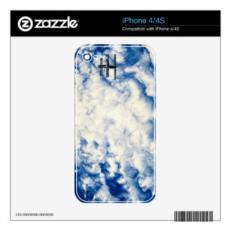 Space Station over the Pacific Skins For iPhone 4