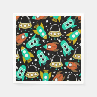 Space Station Paper Napkin