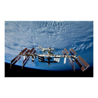 Space Station Poster