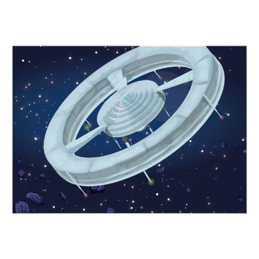Space Station Print