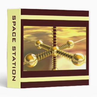 Space Station Vinyl Binder