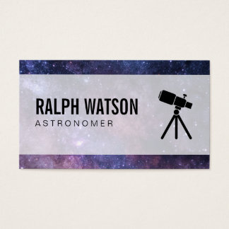 Space | Stellar (telescope) Business Card