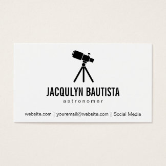 Space | Stellar (telescope II) Business Card