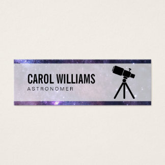 Space | Stellar (telescope) Mini Business Card