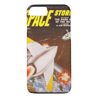 Space Stories v02 n02 (1953-06.Standard)_Pulp Art iPhone 8/7 Case