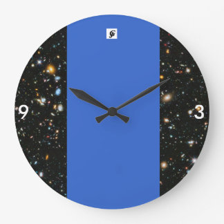 Space Style: Round (Large) clock time to show off