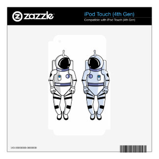 Space Suit Vector iPod Touch 4G Skins