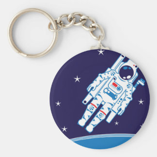 Space Suit Vector Keychain